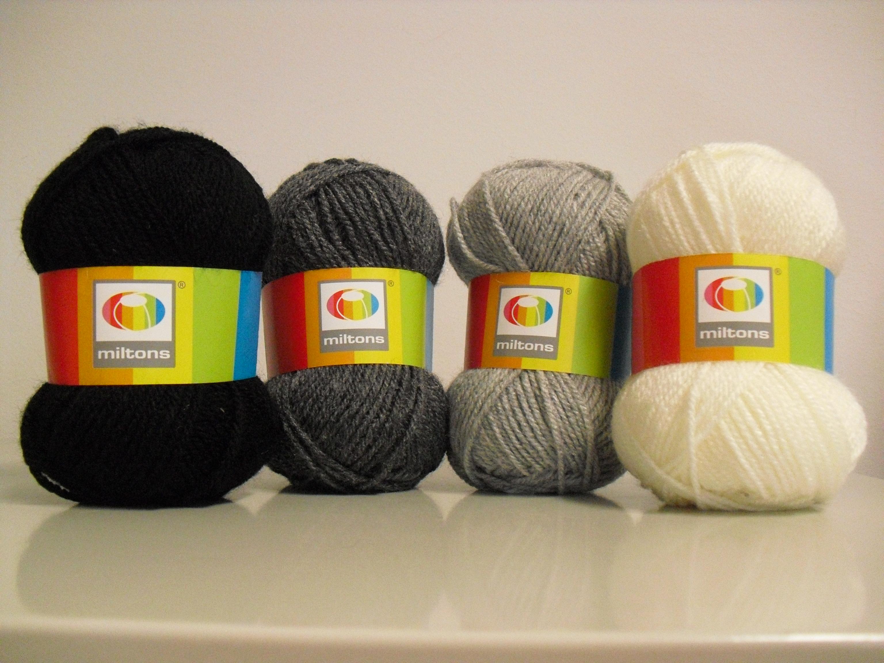 Lã utilizada na confecção do poncho de crochet