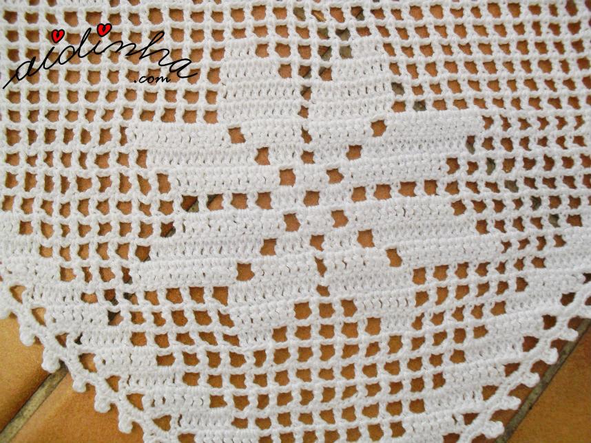 Foto da flor dos bicos do pano para o cesto do pão