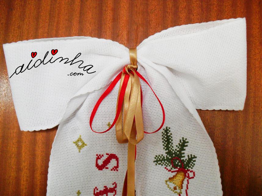 Imagem do laço das fitas de seda