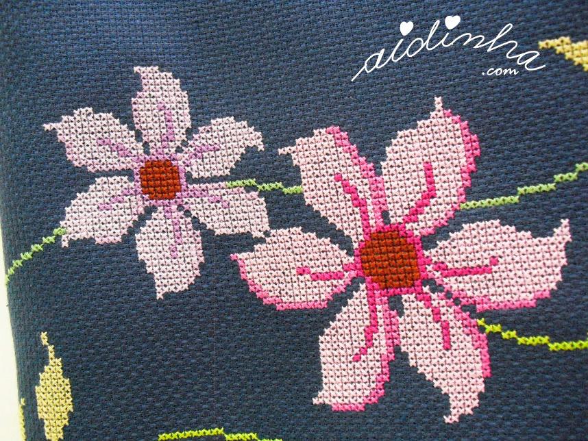 Pormenor das flores lilases