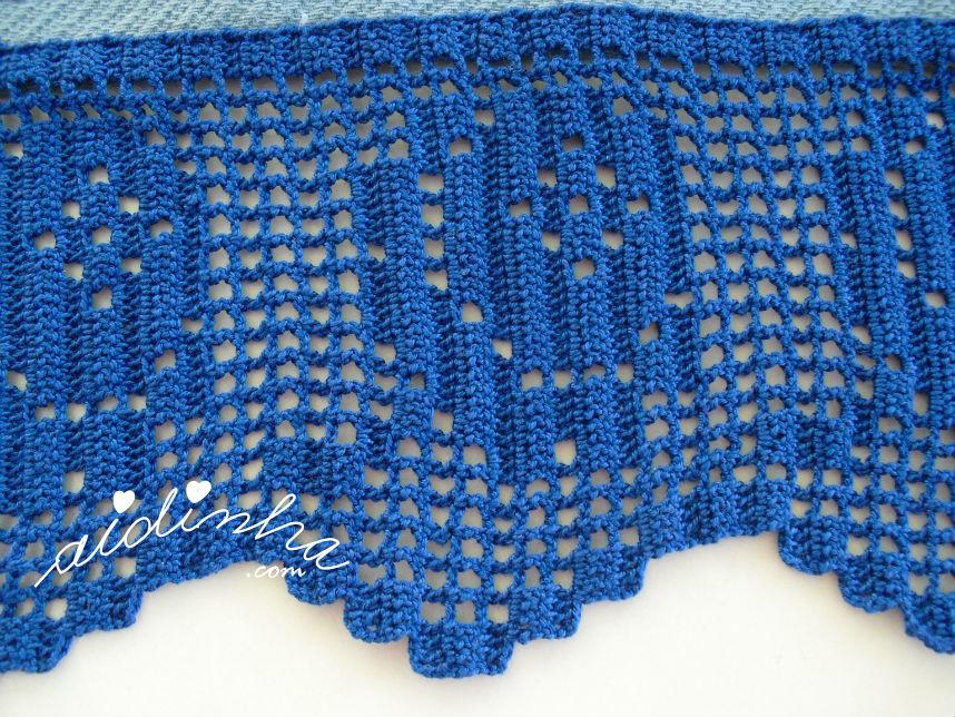 Foto da rosa das toalhas azuis