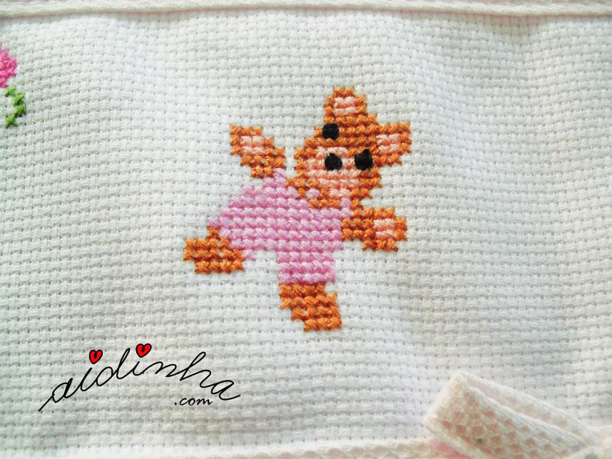 Foto do ursinho rosa do saquinho