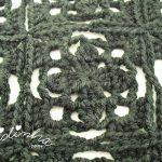 Bolero preto, em crochet