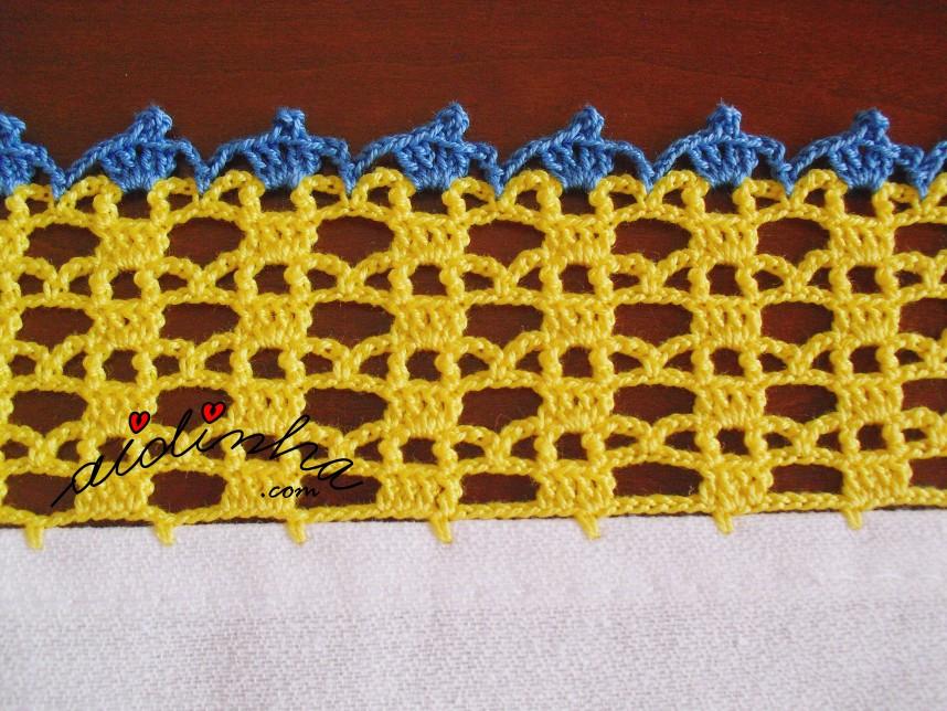 crochet do pano da louça