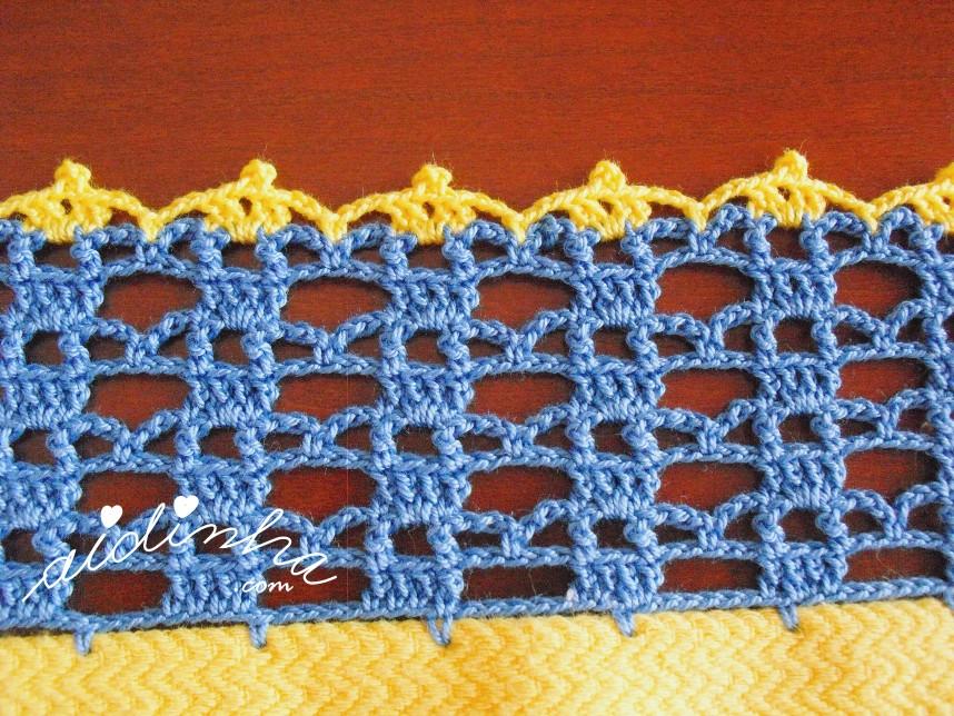 crochet do pano turco amarelo do conjunto de panos de cozinha
