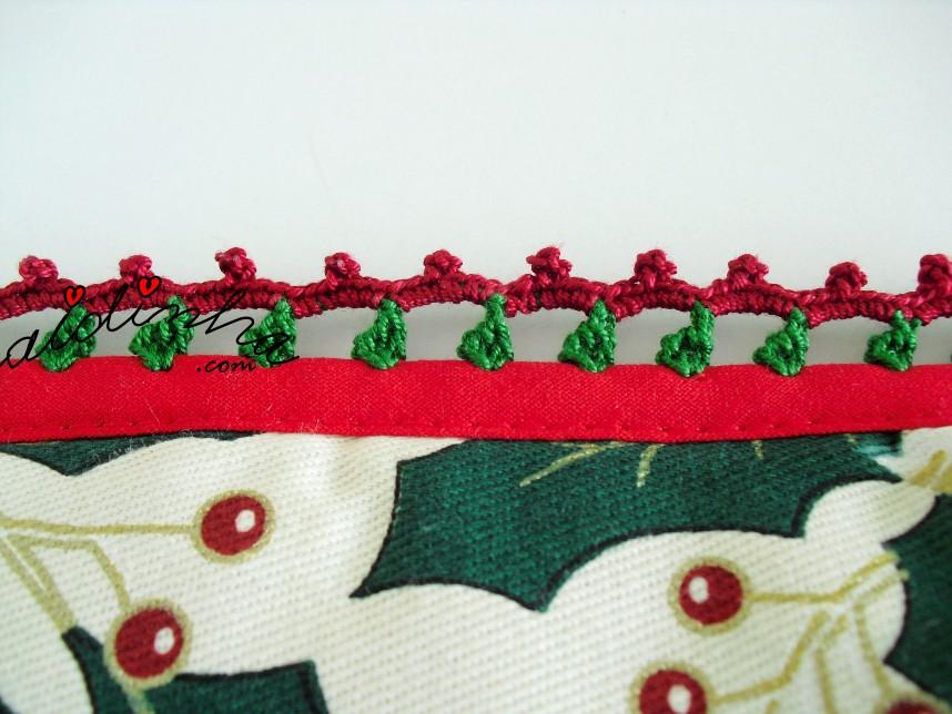crochet das pegas de Natal